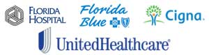 Accepting Untied Healthcare, Florida Blue, and Cigna